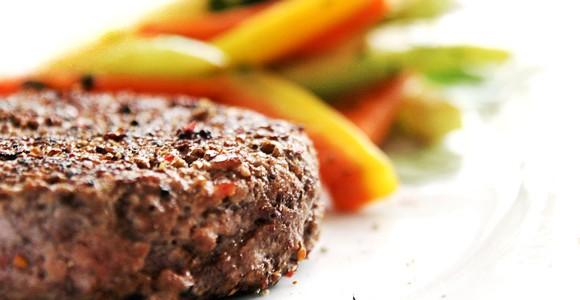 Hambúrguer de carne moída